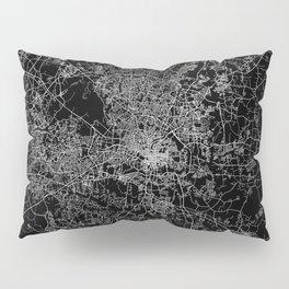 raleigh map north carolina Pillow Sham