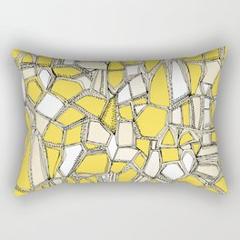 BROKEN POP lemon Rectangular Pillow