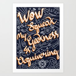 Scorpius Malfoy Art Print