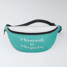 Mermaids & Margaritas Funny Quote Fanny Pack