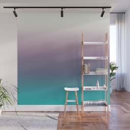 Ombré, Purple, Blue, Green, Pink, Teal, Color Blend Wall Mural