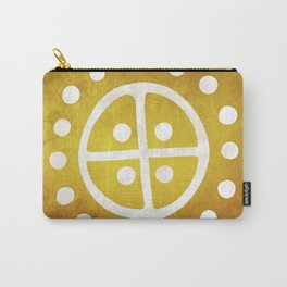 The Sun Wheel Carry-All Pouch