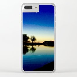 Kansas Tranquility Clear iPhone Case