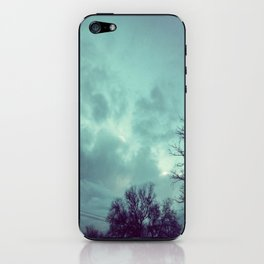 For the love of skies iPhone Skin