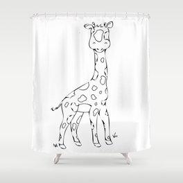 Safari Set - Giraffe Shower Curtain