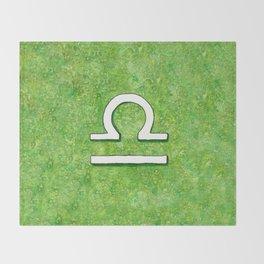Zodiac sign : Libra Throw Blanket