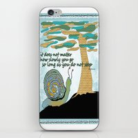 lee pace iPhone & iPod Skins featuring Set Your Pace by SueOdesigns