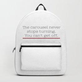 Grey's Anatomy - Ellis Grey Quote. Backpack