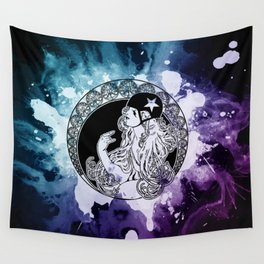 Nouveau Roller Derby World Wall Tapestry