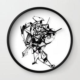 Strut Wall Clock