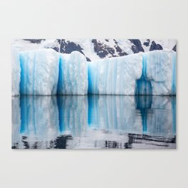Antarctic Ice - Limited to 10 prints in ANY size! Canvas Print