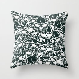 Pirate - White - Pirate Throw Pillow