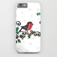Christmas Robin Slim Case iPhone 6s