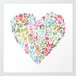 Heart Beat Art Print