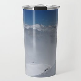 Alpine Mountain Climbers Travel Mug