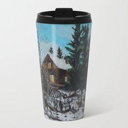 Winter Marshland Travel Mug