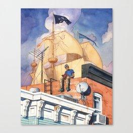 Rowhouse Canvas Print