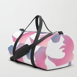 Pink Feminist Duffle Bag