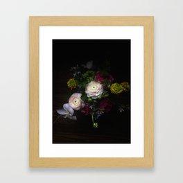 Still life with Ranunculus Framed Art Print
