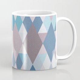 Mauve Blue Geometry III Coffee Mug