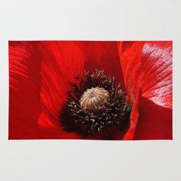Sunlit Poppy Rug