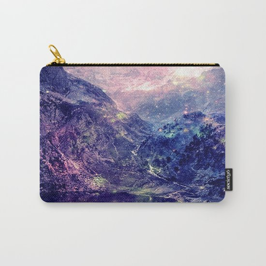 Galaxy Mountains : Deep Pastels Carry-All Pouch