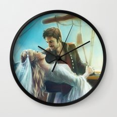 Wouldn't It Be Romantic Wall Clock