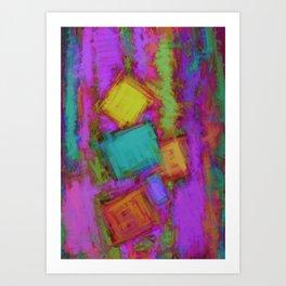 Crashover Art Print