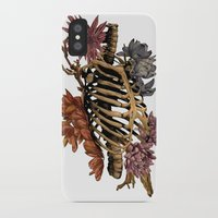 bones iPhone & iPod Cases featuring Bones by Zé Pereira Illustration
