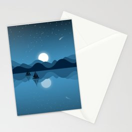 Seaside Dream Time Stationery Cards