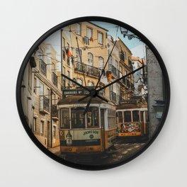 Lisboa, Portugal Wall Clock