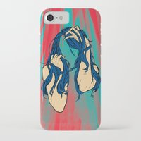 cancer iPhone & iPod Cases featuring Cancer by Rendra Sy