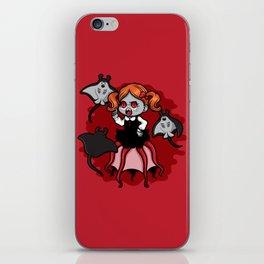Vampire Baby Squid iPhone Skin