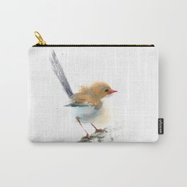 Wren - Minimalist painting   Carry-All Pouch