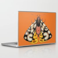 moth Laptop & iPad Skins featuring moth (ORIGINAL SOLD). by Federico Cortese