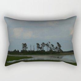 Assateague Island Swamp Rectangular Pillow