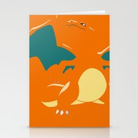 charizard Stationery Cards featuring Charizard by SEANLAR94