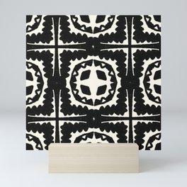 Sayulita, black & white Mini Art Print