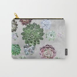 Simple succulents Carry-All Pouch