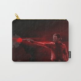 The Walking Dead Rick Grimes oil painting effect Carry-All Pouch