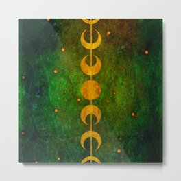 The Serpent Oracle Metal Print