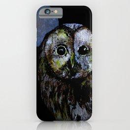 The Night Owl iPhone Case