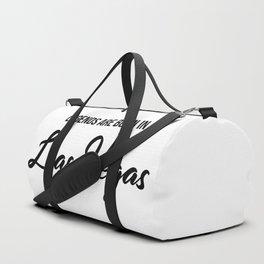 Legends are born in Las Vegas Duffle Bag