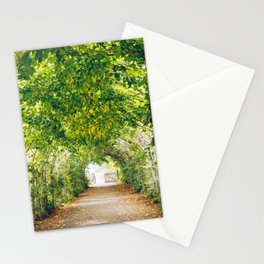 in green summer light Stationery Cards