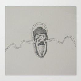Little Shoe Canvas Print