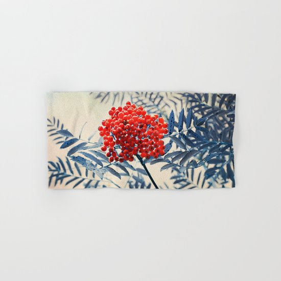 Rowan Berries Hand & Bath Towel