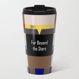 DS9 - Far Beyond the Stars - Minimalist Star Trek DS9 Deep Space Nine - startrek - Trektangles Travel Mug
