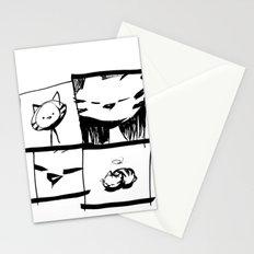 minima - IA - catnap Stationery Cards