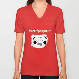 Beefpaper Butts Unisex V-Neck