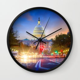 DC 01 - USA Wall Clock